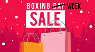 Shop Online In Canada in Boxing Week And Have Parcels Forwarded To You